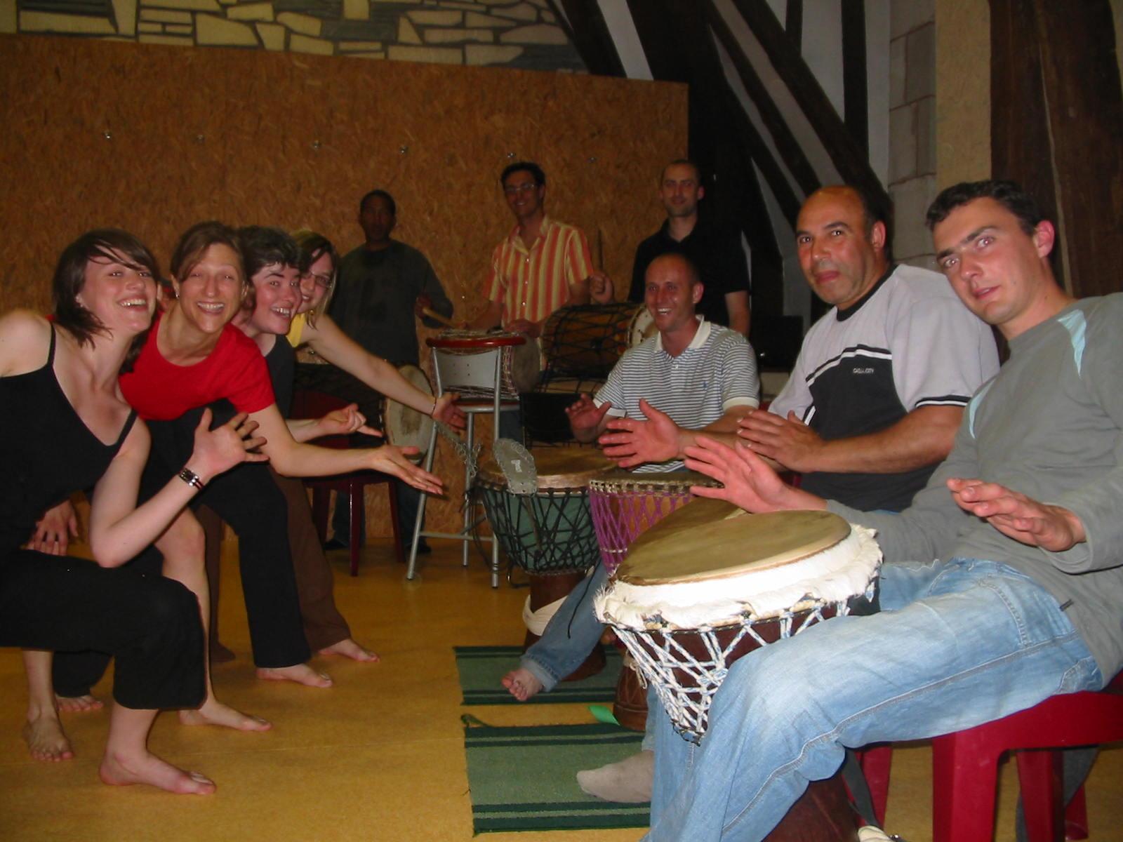 les rencontres regionales de la percussion